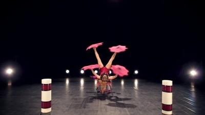 Foot juggling act