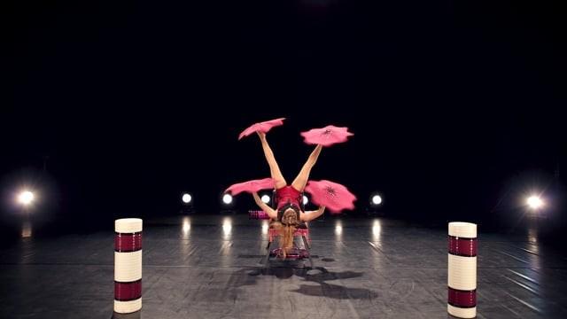 Katerina Foot Juggling