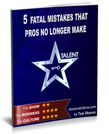 5 fatal mistakes that pros no longer make Tom Shanon The secret of pros