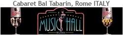 Cabaret Bal Tabarin Tom Shanon