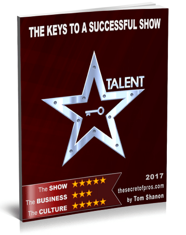 The keys to a successful show Tom Shanon The secret of pros L380 3 ak
