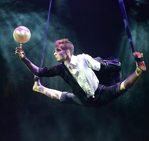 Anton Mikheev aerial straps with ball