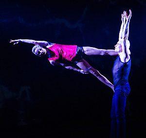 Circus performer Duo Ogor