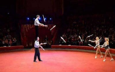 Group Acrobats-jugglers Silianovs